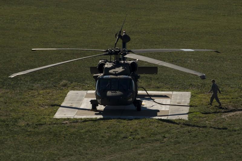 Trực thăng Vệ binh Quốc gia Mỹ rơi, 3 người thiệt mạng - ảnh 1