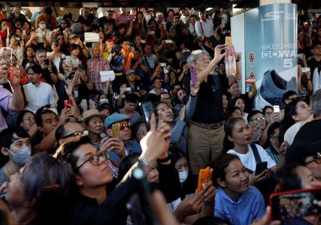 Người dân Thái Lan tổ chức biểu tình lớn nhất từ năm 2014 - ảnh 3