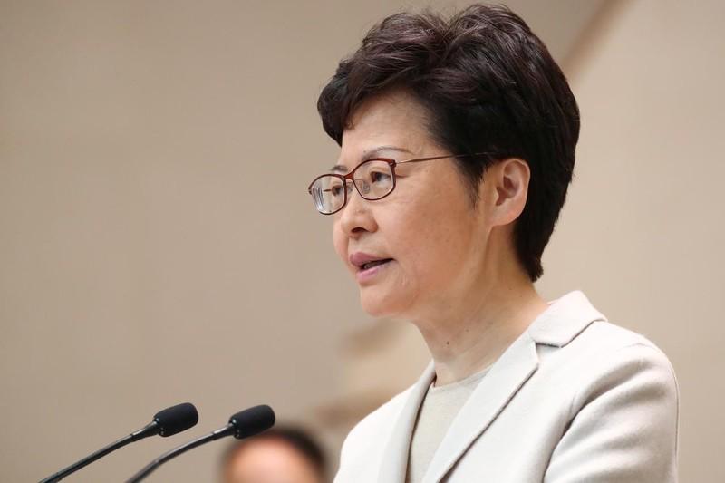 Lãnh đạo Hong Kong thăm Bắc Kinh sau thất bại bầu cử - ảnh 1