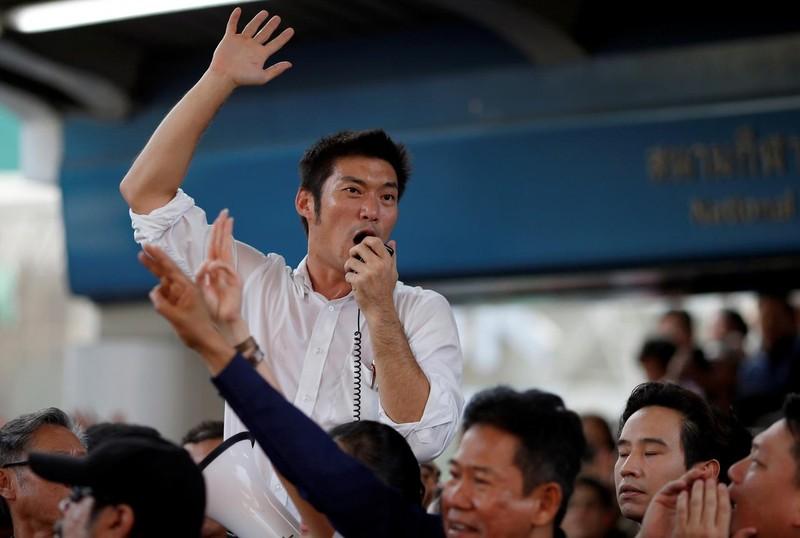 Người dân Thái Lan tổ chức biểu tình lớn nhất từ năm 2014 - ảnh 1