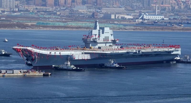 Tàu sân bay nội địa đầu tiên của Trung Quốc đi vào hoạt động - ảnh 1