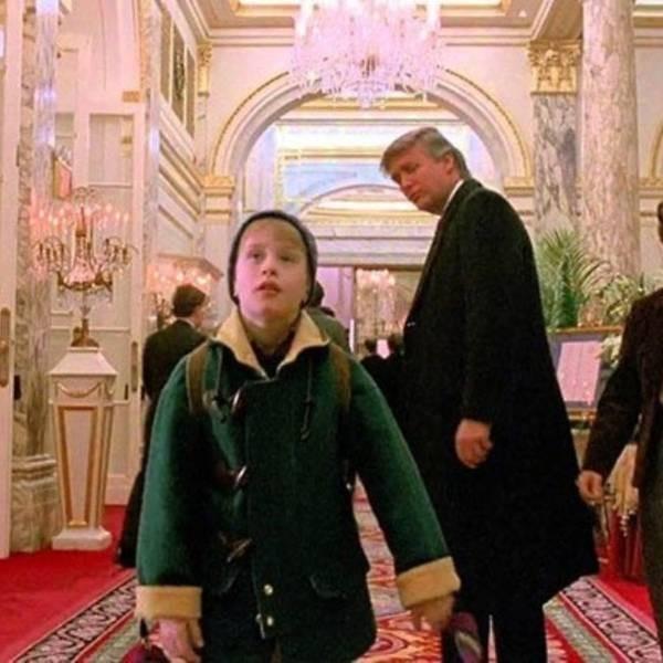 Ông Trump vinh dự khi từng là cameo trong 'Ở nhà một mình 2' - ảnh 1