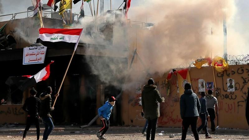 Bộ Ngoại giao Mỹ kêu gọi công dân rời Iraq ngay lập tức - ảnh 1