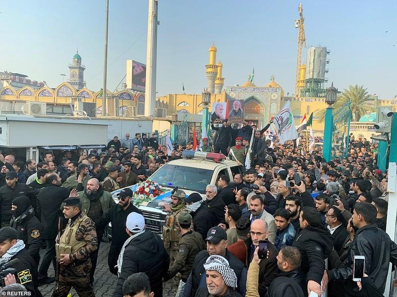 Iran kêu gọi lên án Mỹ sau cái chết của tướng Soleimani - ảnh 2