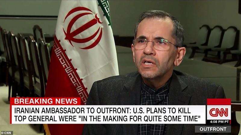 Iran kêu gọi lên án Mỹ sau cái chết của tướng Soleimani - ảnh 1