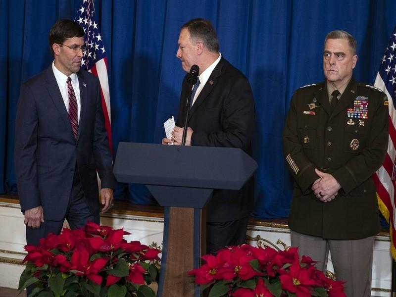 Mỹ tuyên bố không rút quân khỏi Iraq - ảnh 2