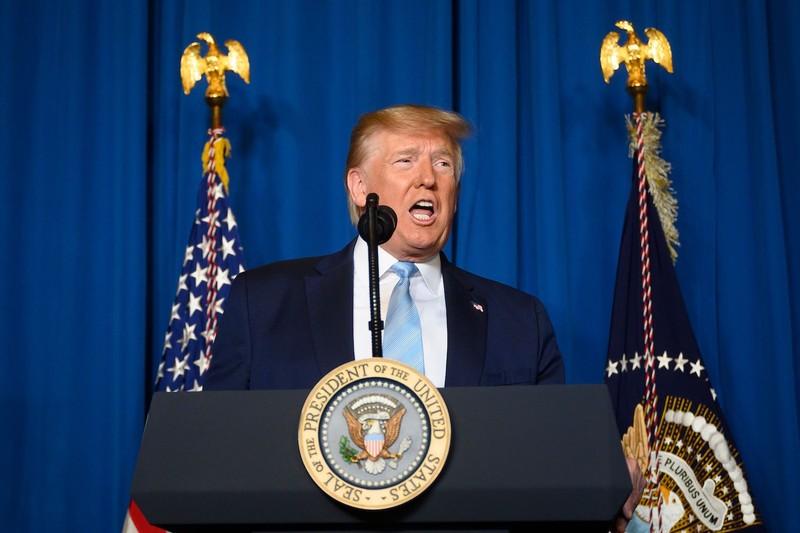 Ông Trump: Không có lính Mỹ thiệt mạng, Iran phải bỏ cuộc - ảnh 1