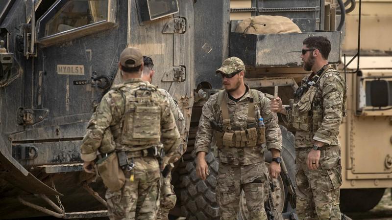 Lính Mỹ ở Syria báo động cao, di chuyển sát biên giới Iraq  - ảnh 1