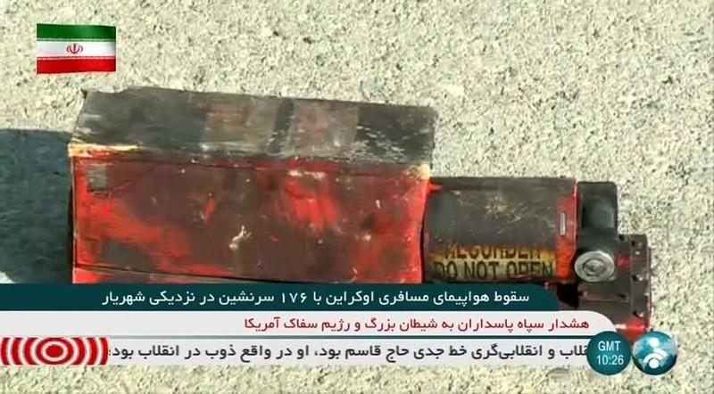 Iran quyết không đưa hộp đen máy bay rơi cho Boeing  - ảnh 1