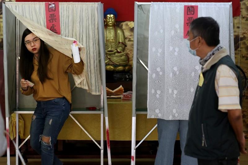 Bầu cử Đài Loan: Bà Thái Anh Văn tái đắc cử - ảnh 2