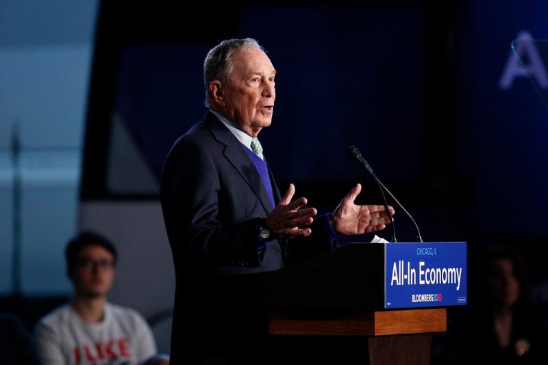 Tỉ phú Bloomberg khẳng định sẵn sàng chi mạnh loại ông Trump  - ảnh 1