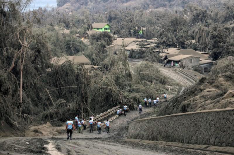 Philippines: Núi lửa Taal có thể tạo ra một 'vụ nổ phun trào' - ảnh 3