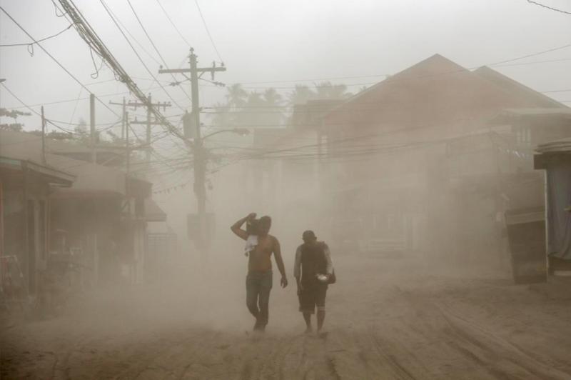 Philippines: Núi lửa Taal có thể tạo ra một 'vụ nổ phun trào' - ảnh 1