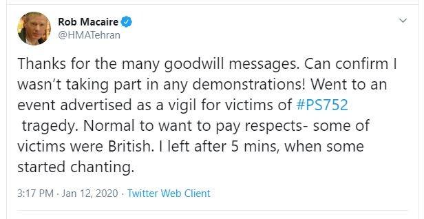 Iran lên tiếng vụ bắt giữ và triệu tập đại sứ Anh  - ảnh 1