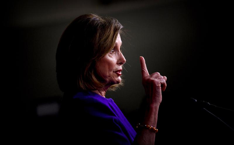 Bà Pelosi cáo buộc ông Trump 'che đậy' bằng chứng luận tội  - ảnh 1
