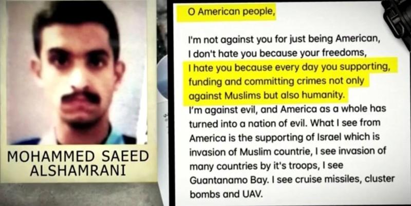 Mỹ trục xuất 21 học viên Saudi Arabia liên quan xả súng căn cứ - ảnh 2