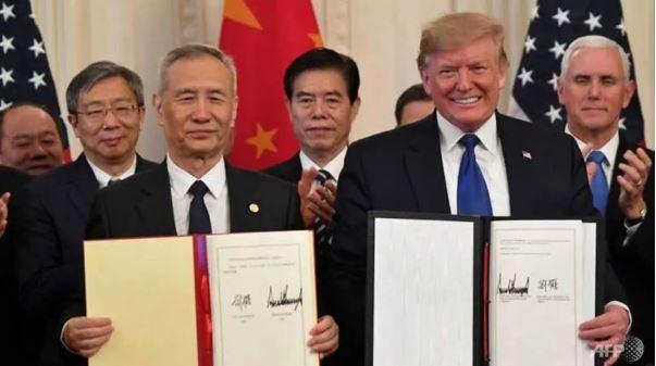 Mỹ-Trung ký kết thành công Thỏa thuận thương mại giai đoạn 1 - ảnh 1