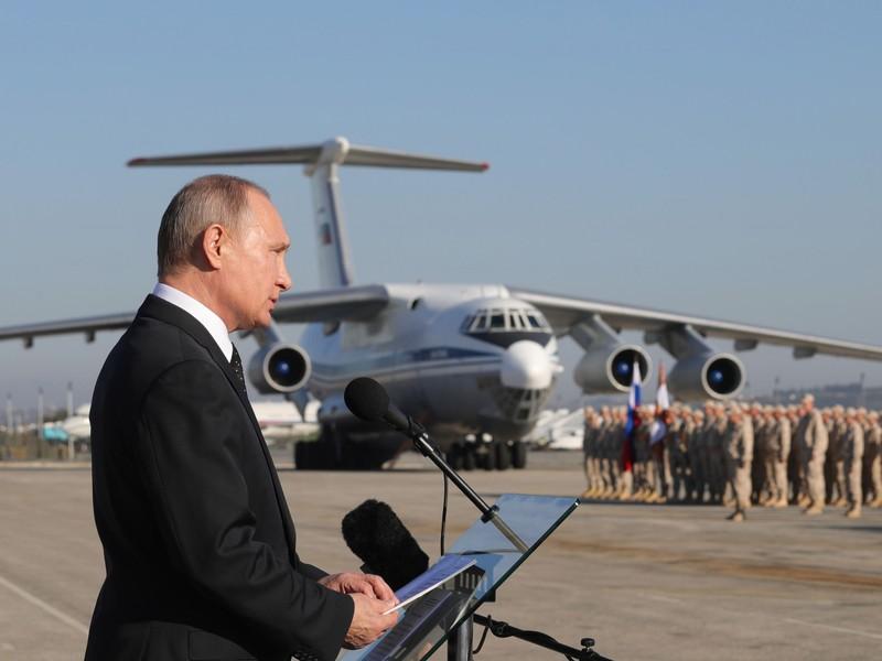 Căn cứ Nga ở Syria bị máy bay không người lái không kích - ảnh 1