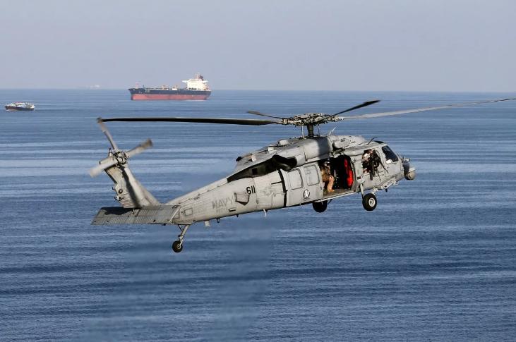 Trực thăng Hải quân Mỹ gặp nạn ở biển Philippines - ảnh 1