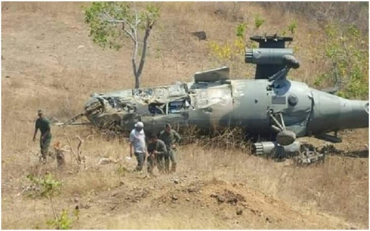 Trực thăng Ấn Độ rơi ở Kashmir - ảnh 1