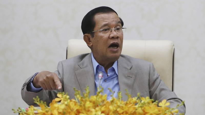 Ông Hun Sen nói sẽ bay sang Vũ Hán nếu Trung Quốc đồng ý - ảnh 1