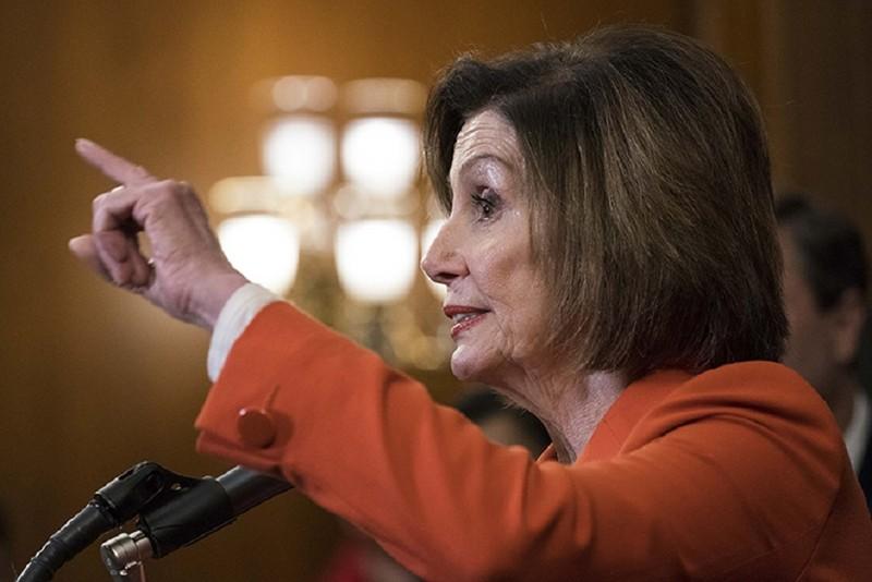 Bà Pelosi: Đảng Cộng hòa phớt lờ Hiến pháp, bao che ông Trump - ảnh 1
