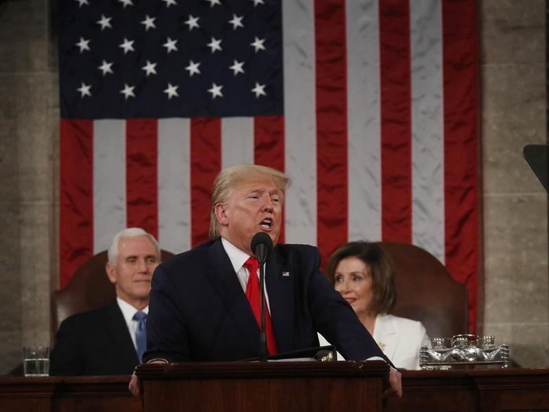 Bao nhiêu người Mỹ ủng hộ ông Trump trắng án? - ảnh 1