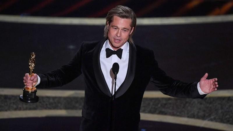 Brad Pitt có giải Oscar đầu tiên ghi nhận tài năng diễn xuất - ảnh 1