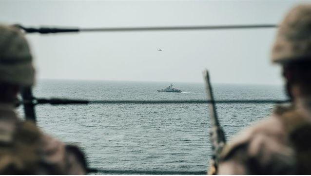 Hải quân Mỹ thu giữ lô vũ khí 'khủng' nghi của Iran - ảnh 1