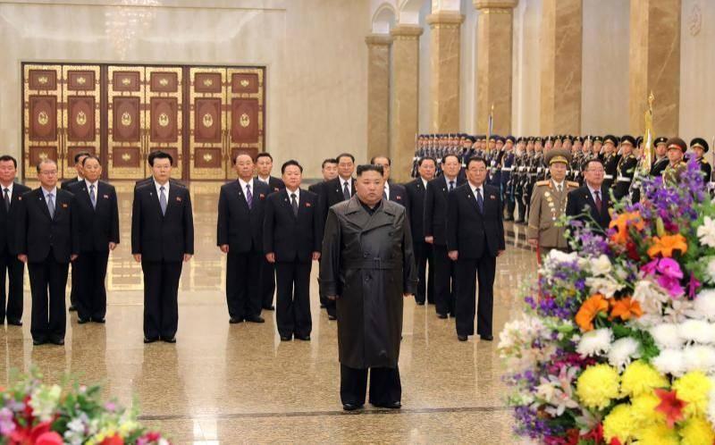 Ông Kim Jong-un xuất hiện trở lại trước công chúng sau tết - ảnh 1