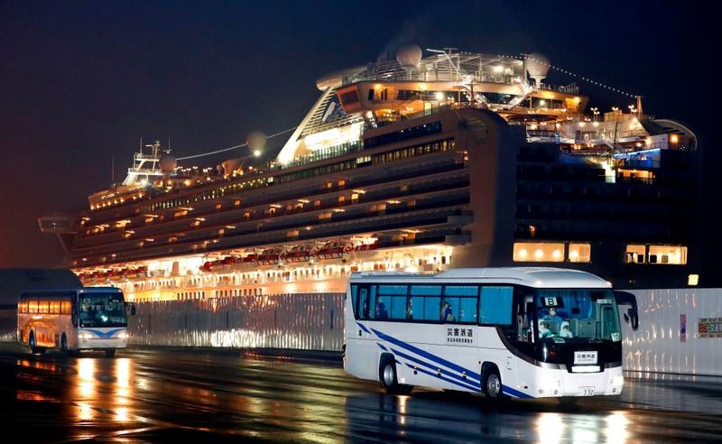 Mỹ đưa du khách tàu từ Nhật về nước, gồm 14 ca nhiễm COVID-19 - ảnh 1