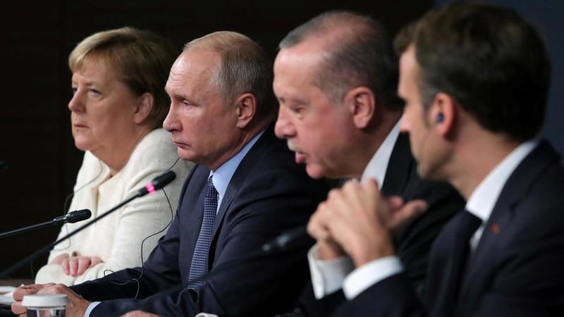 Đức, Pháp kêu gọi đối thoại với Thổ Nhĩ Kỳ về tình hình Syria - ảnh 1