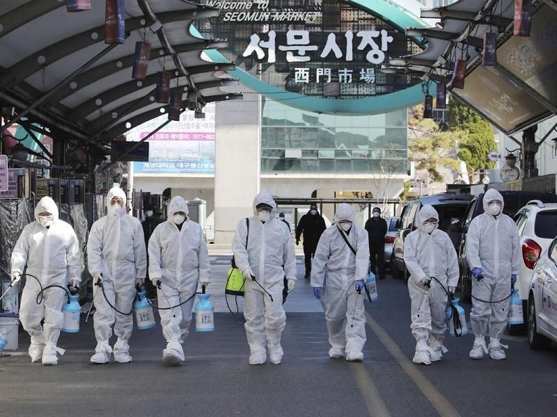 Hàn Quốc: Tử vong, nhiễm liên tục tăng, lan cả vào doanh trại - ảnh 1