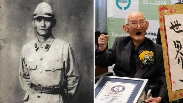 Cụ ông cao tuổi nhất thế giới qua đời, thọ 112 tuổi - ảnh 1