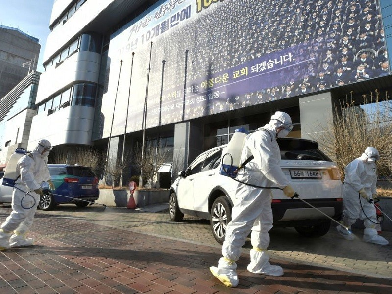 Hàn Quốc: Thêm ca tử vong, cách ly tối đa TP Daegu - ảnh 1