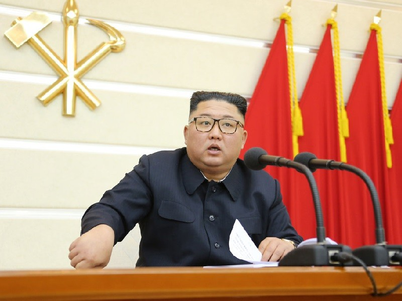 Ông Kim họp đảng bàn biện pháp phòng dịch COVID-19 - ảnh 1