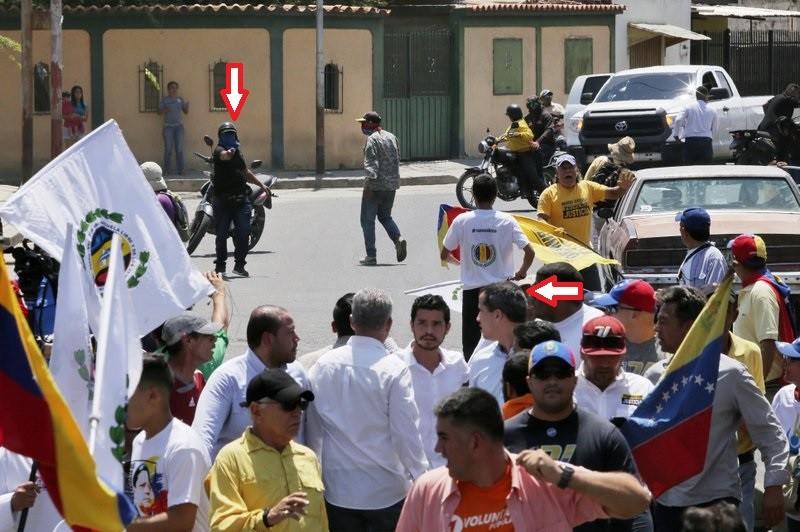 Venezuela: Ông Guaido nói mình bị mưu sát  - ảnh 1