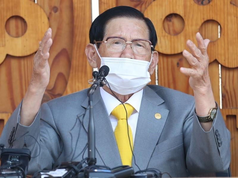 Hàn Quốc không xác nhận được xét nghiệm giáo chủ Tân Thiên Địa - ảnh 1