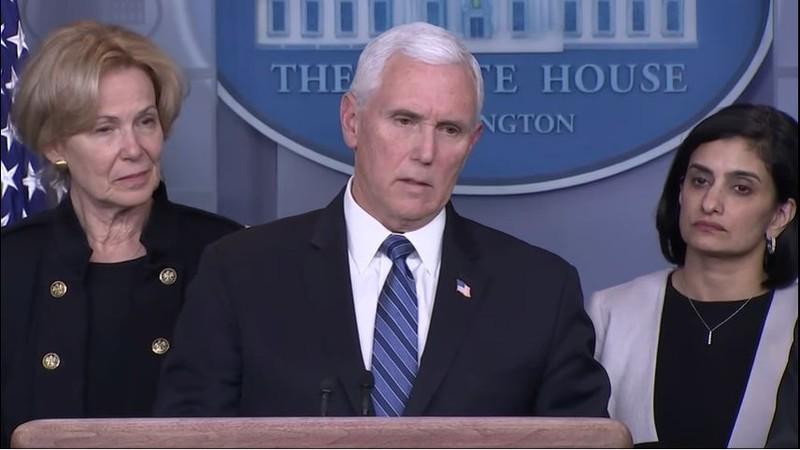 Ông Mike Pence: 'Tất cả mọi người phải vào cuộc chống dịch' - ảnh 1