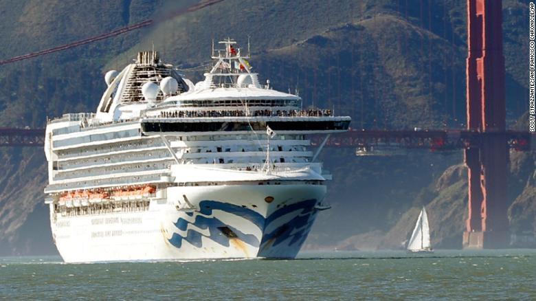 COVID-19 Mỹ: 21 ca nhiễm trên du thuyền hơn 3.500 người - ảnh 3