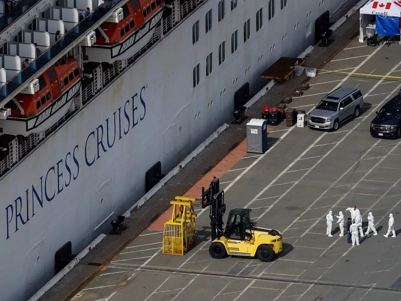 Khách kiện chủ tàu ở California, đòi 1 triệu USD vì COVID-19 - ảnh 1