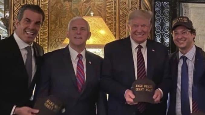 Quan chức Brazil dương tính COVID-19 từng gặp ông Trump - ảnh 1