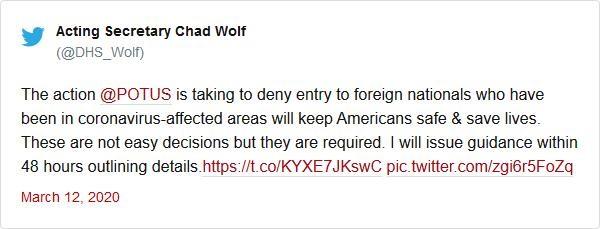 Mỹ cấm du khách châu Âu nhập cảnh vì đại dịch COVID-19 - ảnh 2