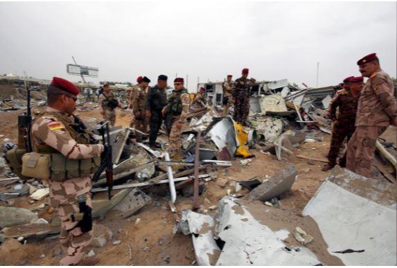 Căn cứ liên quân Mỹ dẫn đầu ở Iraq hứng hàng chục tên lửa  - ảnh 2