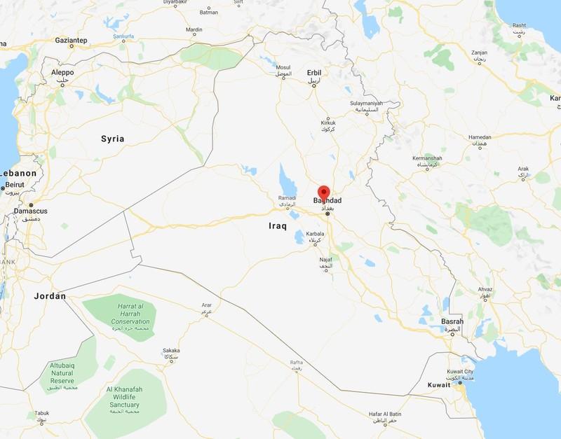 Căn cứ liên quân Mỹ dẫn đầu ở Iraq hứng hàng chục tên lửa  - ảnh 1