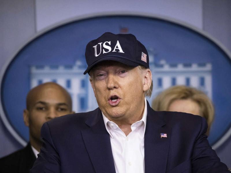Tổng thống Donald Trump xét nghiệm âm tính với COVID-19 - ảnh 1