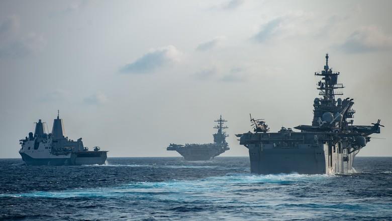 Đáp trả Mỹ, Trung Quốc tập trận chống ngầm trên biển Đông - ảnh 2