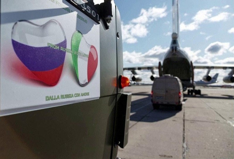 Nga: Giúp Ý chống COVID-19 không phải để được EU dỡ trừng phạt - ảnh 2