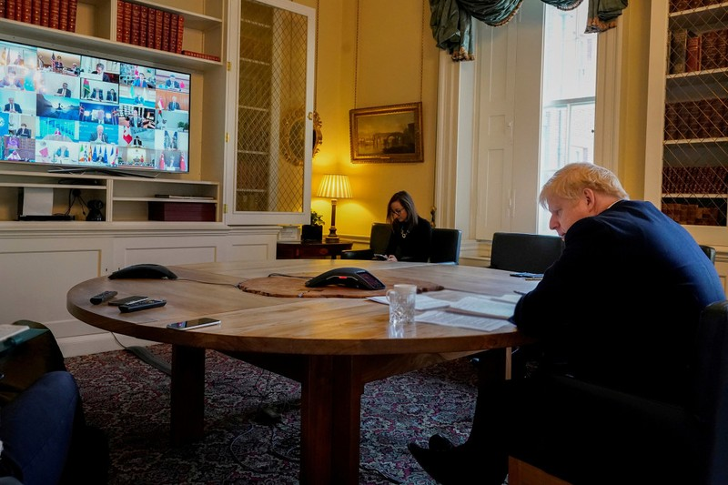 G20 họp từ xa về COVID-19, hứa bơm 5.000 tỉ USD cứu kinh tế - ảnh 3