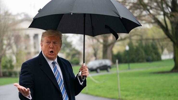 Cân nhắc phong tỏa New York vì COVID-19: Ông Trump lên tiếng - ảnh 1